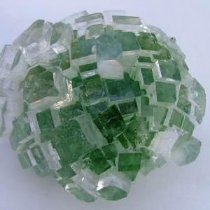 Flat Terminated Green Apophyllite