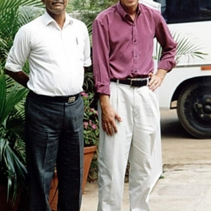 mf makki with late claus hedegaard