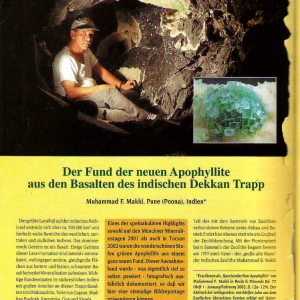 Mineralien Welt 2002 - 2