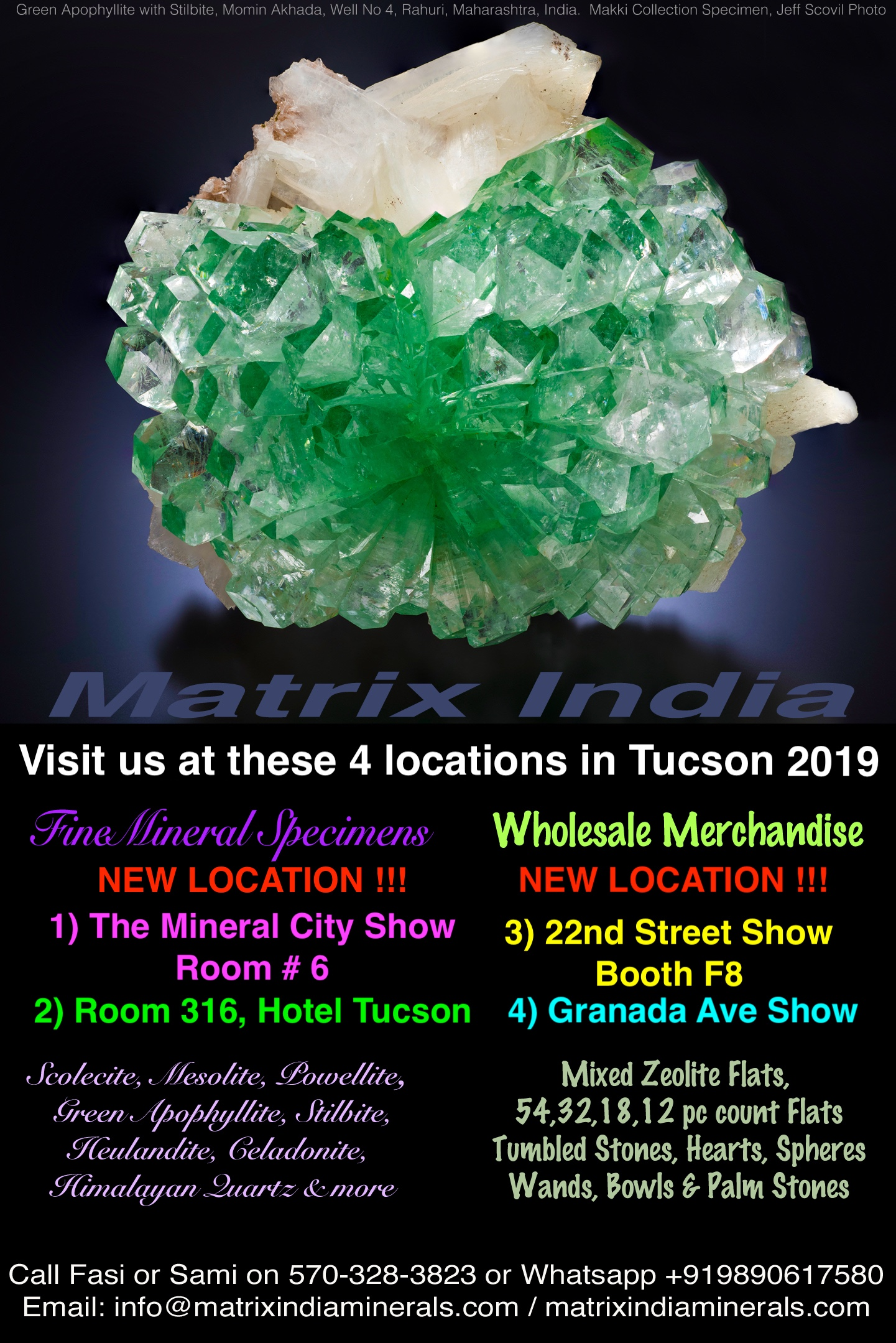 matrix_india_minerals_show_schedule_2019